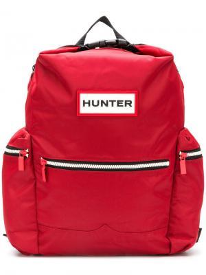 Water-resistant backpack Hunter. Цвет: красный