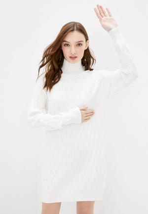 Платье Passioni. Цвет: белый