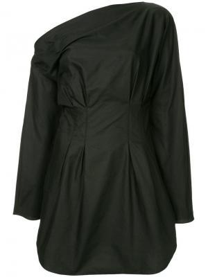 Платье на одно плечо Steinem CAMILLA AND MARC. Цвет: черный