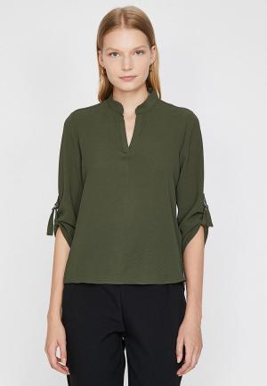 Блуза Koton. Цвет: хаки
