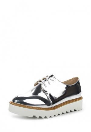 Ботинки Coco Perla. Цвет: серебряный