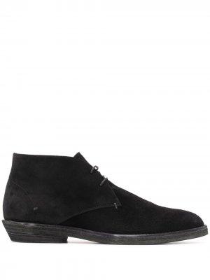 Ботинки дезерты на шнуровке Haider Ackermann. Цвет: черный