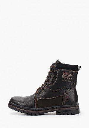 Ботинки Тофа. Цвет: черный