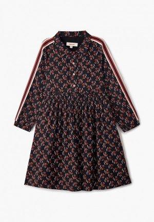 Платье Catimini. Цвет: черный
