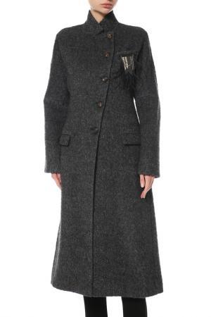 Пальто Brunello Cucinelli. Цвет: серый