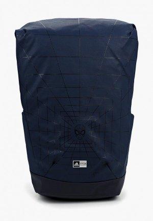 Рюкзак adidas. Цвет: синий