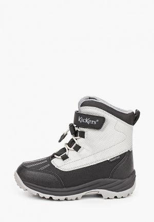 Ботинки Kickers. Цвет: серый