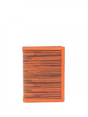 Обложка для блокнота Vibrato 2010-х годов Hermès. Цвет: оранжевый