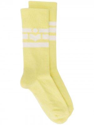 Носки Vito Isabel Marant. Цвет: желтый