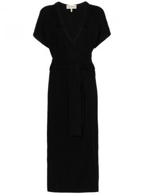 Платье миди Joss Mara Hoffman. Цвет: черный