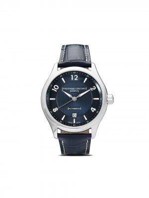 Наручные часы Runabout Automatic 40 мм Frédérique Constant. Цвет: голубой