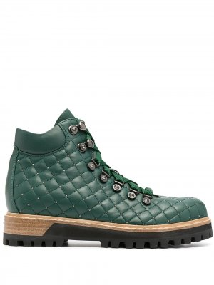 Трекинговые ботинки St.Moritz Le Silla. Цвет: зеленый