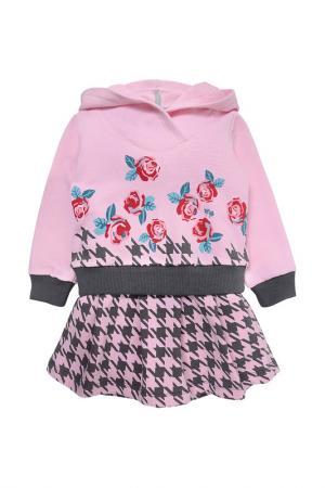 Платье Мамуляндия. Цвет: бордовый