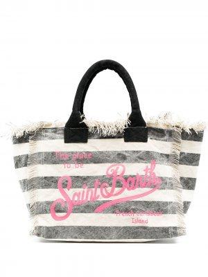 Пляжная сумка-тоут Mc2 Saint Barth. Цвет: нейтральные цвета