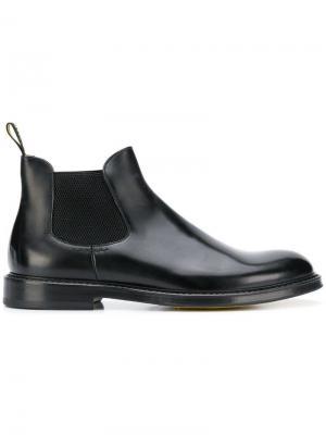 Round toe boots Doucal's. Цвет: черный