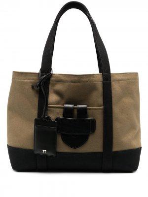 Сумка Simple Bag среднего размера Tila March. Цвет: зеленый