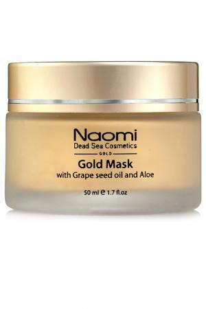 Золотая маска Naomi. Цвет: none