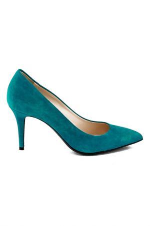 Туфли Gianmarco Lorenzi. Цвет: голубой