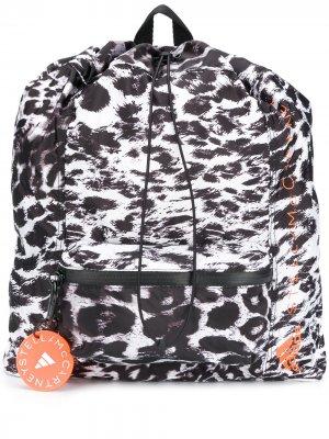 Спортивный рюкзак adidas by Stella McCartney. Цвет: белый