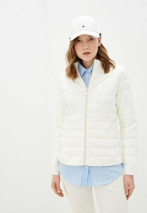 Куртка утепленная Macleria. Цвет: белый