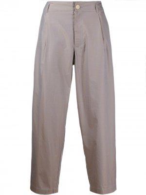 Классические брюки строгого кроя Comme Des Garçons Shirt. Цвет: серый