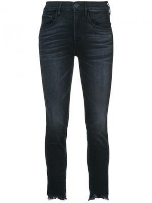 Укороченные джинсы 3x1. Цвет: черный