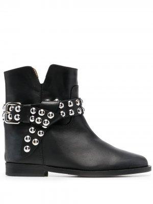 Ботинки Malibu с заклепками Via Roma 15. Цвет: черный