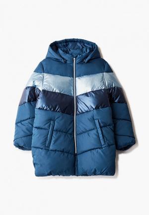 Куртка утепленная Name It. Цвет: бирюзовый