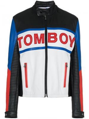 Куртка Tyson Filles A Papa. Цвет: черный