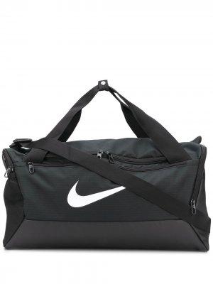 Спортивная сумка Nike. Цвет: черный