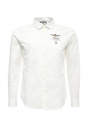 Рубашка Aeronautica Militare. Цвет: белый