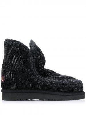Декорированные ботинки Eskimo Mou. Цвет: черный
