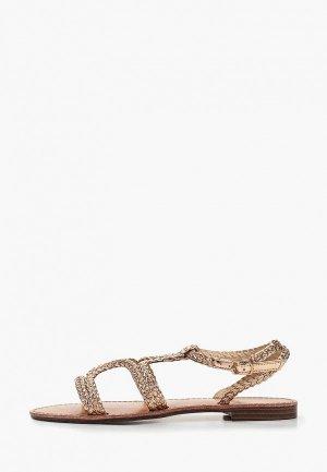Сандалии Sweet Shoes. Цвет: золотой
