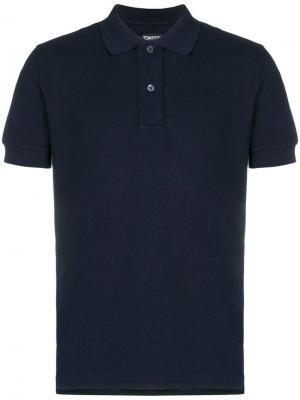 Classic polo shirt Tom Ford. Цвет: синий