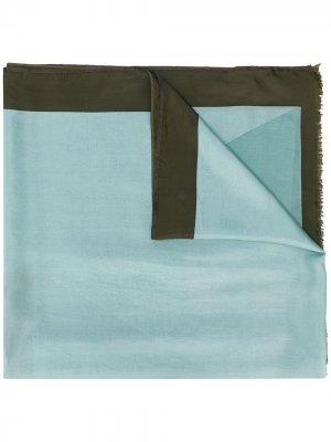 Двухцветный платок Altea. Цвет: синий