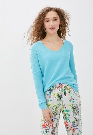 Пуловер Savage. Цвет: бирюзовый