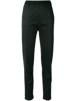 Спортивные брюки с эластичным поясом Ilaria Nistri. Цвет: черный