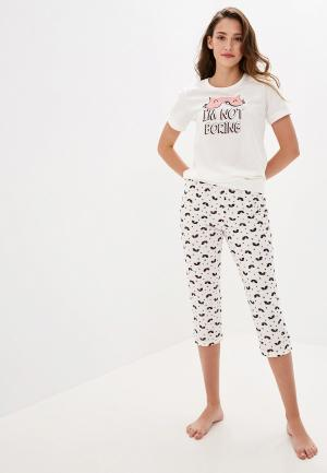 Пижама Vis-a-Vis. Цвет: белый