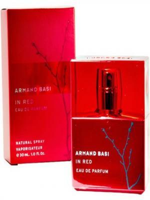 In Red lady, Парфюмерная вода, 30 мл Armand Basi. Цвет: красный