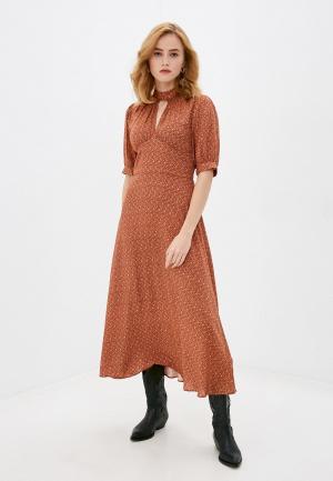 Платье Rich&Royal. Цвет: коричневый
