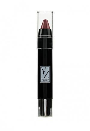 Карандаш для губ Yllozure. Цвет: бордовый