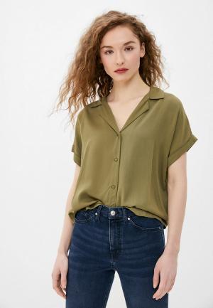Блуза Jacqueline de Yong. Цвет: хаки