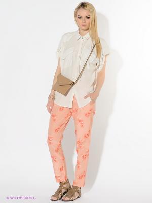 Брюки American Outfitters. Цвет: персиковый, коралловый