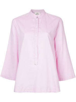 Блузка Sweetie Mads Nørgaard. Цвет: розовый