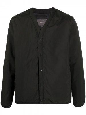 Куртка с V-образным вырезом Norse Projects. Цвет: черный