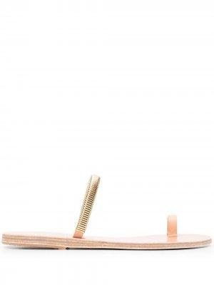 Сандалии Konaki Ancient Greek Sandals. Цвет: нейтральные цвета