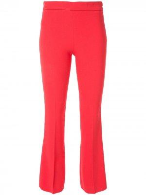 Классические однотонные брюки Giambattista Valli. Цвет: красный