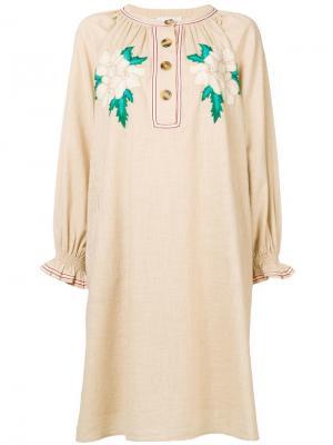 Zahid midi dress Antik Batik. Цвет: нейтральные цвета