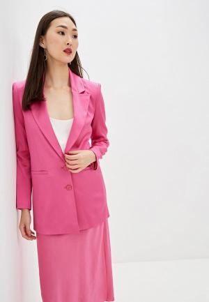 Пиджак Patrizia Pepe. Цвет: розовый