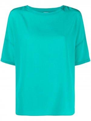 Блузка с короткими рукавами Aspesi. Цвет: зеленый